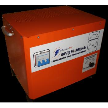 Зарядные устройства для вилочных погрузчиков - ELHIM ISKRA ЕлПулсКар 80V (400-800)Ah - Фото 1